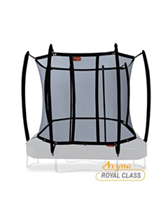 Royal veiligheidsnet gebogen palen tbv 305 x 225 cm Black (223)