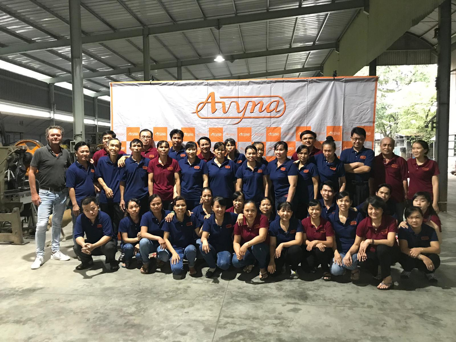 Avyna team Vietnam